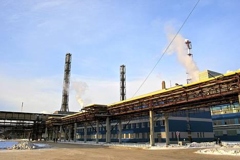Fosforit-tehdas sijaitsee Kingiseppissä, lähellä viron rajaa.