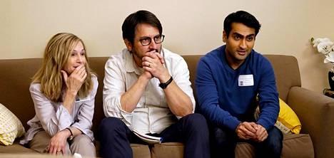Holly Hunter, Ray Romano ja Kumail Nanjiani näyttelevät The Big Sickissä.