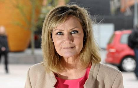 Europarlamentaarikko, eurovaaliehdokas Eija-Riitta Korhola.
