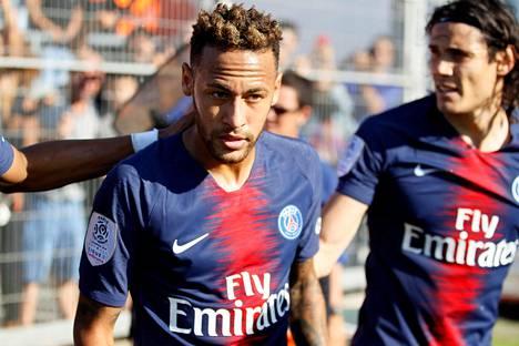 Neymar onnistui maalinteossa Nimesiä vastaan lauantaina.