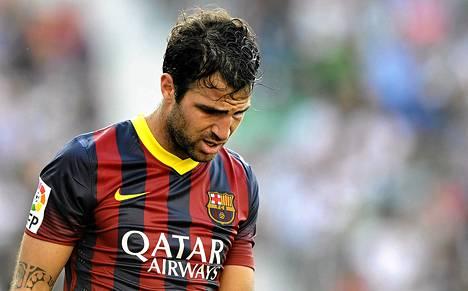 Cesc Fabregas on palaamassa Englannin kentille.