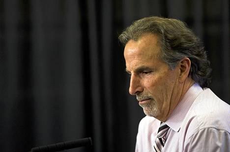 Tulisieluinen valmentaja John Tortorella sai potkut Vancouver Canucksista.