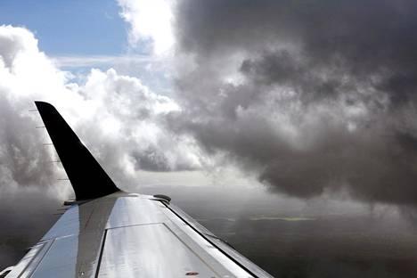 Ilmastonmuutoksen myötä turbulenssit voivat yleistyä.