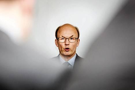 Koneen väistyvä toimitusjohtaja Matti Alahuhta.