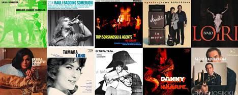 Lipposen levy ja kasetti julkaisee muun muassa vanhoja Suomi-iskelmiä kasetteina.