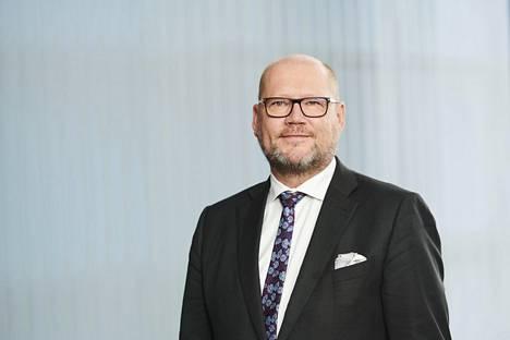 Atrian toimitusjohtaja Juha Gröhn.