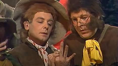 Neuvostoliittolainen Taru sormusten herrasta valmistui vuonna 1991. Kuvakaappaus Youtubesta.