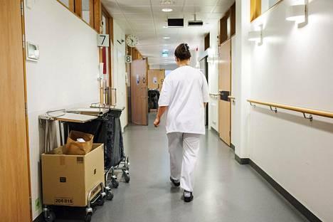 Valtiovarainministeriön arvion mukaan soten valinnanvapaus ei säästä rahaa. Kuva on Haartmanin sairaalasta Helsingistä.