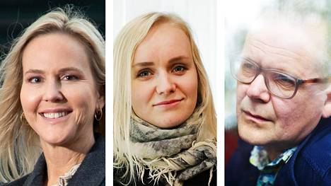 Camilla Grebe, Ringa Manner ja Kati Hotakainen