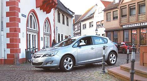 Uusi Opel Astra on onnistunut kokonaisuus