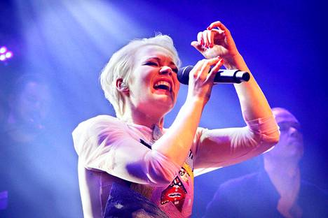 Anna Puu esiintyi Tavastialla joulukuussa 2018.