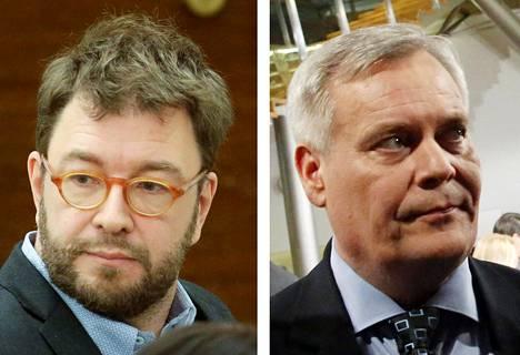 Timo Harakka ja Antti Rinne