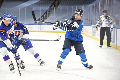 Roni Hirvonen scored two very important goals in the World Cup tournament.