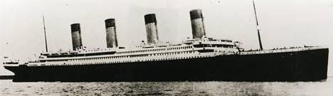 Titanic upposi huhtikuussa sata vuotta sitten.