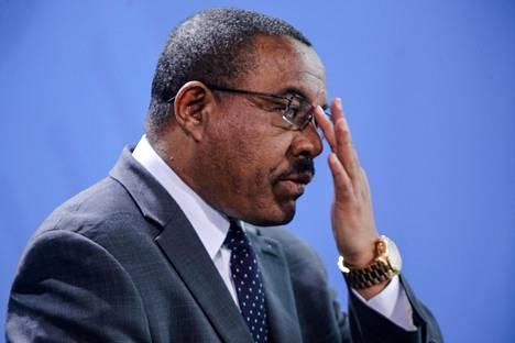 Etiopian pääministeri Hailemariam Desalegn