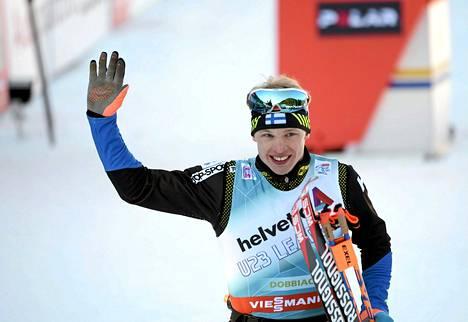 Iivo Niskanen hiihti viime viikolla vielä Tour de Skillä.