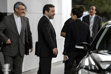 Iranin varaulkoministeri poistui ydinneuvotteluista Genevessä keskiviikkona.