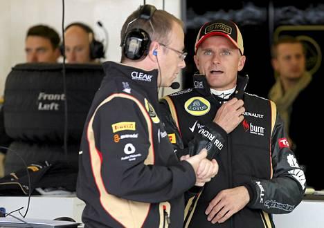 Heikki Kovalainen oli Lotuksen ratissa kolmastoista.