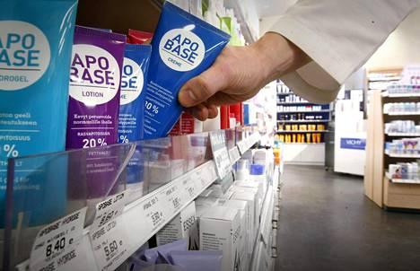 Apobase-voidetta myytiin keskiviikkona helsinkiläisessä apteekissa.