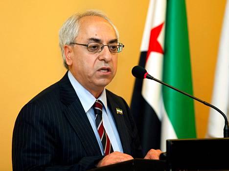 Syyrian uusi oppositiojohtaja  Abdul Basit Sieda.