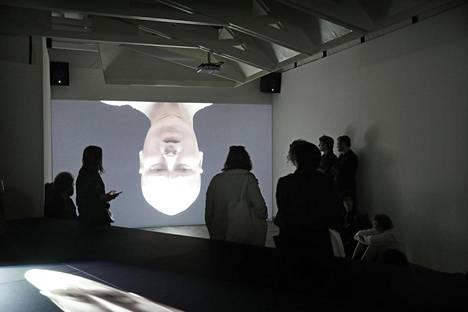 Taiteilijat esittävät videoteoksensa kaikki hahmot itse.