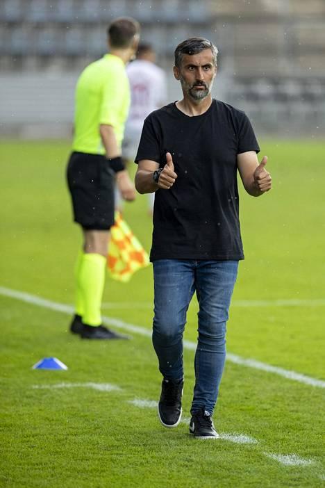 FC Interin päävalmentaja José Riveiro teki heti ensimmäisellä päävalmentajakaudellaan kaudella 2019 erinomaista työtä.