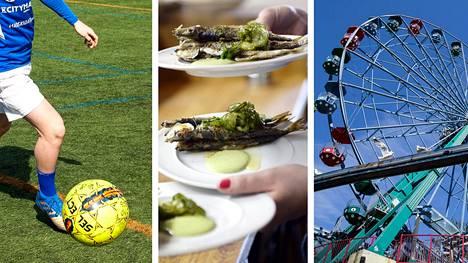 Muun muassa liikuntapaikkojen käyttöä, ravintoloita ja huvipuistoja koskevat rajoitukset lievenevät.