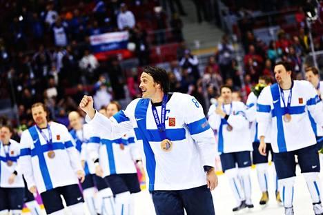 NHL-kiekkoilijat olivat mukana vielä Sotšin olympialaisissa vuonna 2014. Suomen joukkue voitti pronssia Teemu Selänteen johdolla.