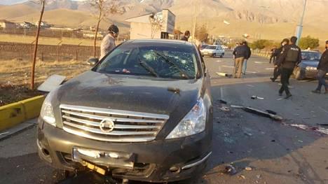Iranin ydinohjelman pääarkkitehti Mohsen Fakhrizadeh ammuttiin autoonsa vuonna 2020.