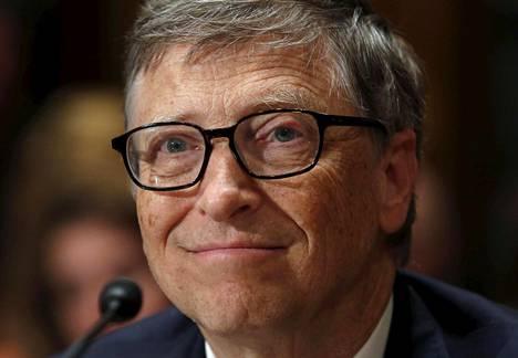 Bill Gates on maailman rikkain ihminen.