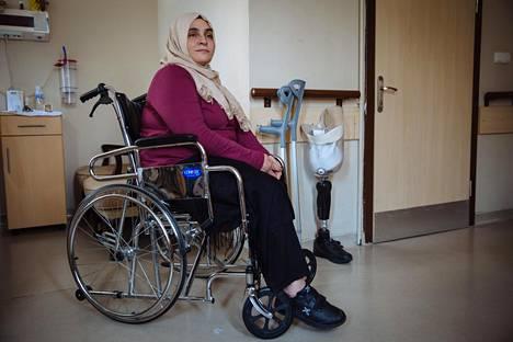 Vahide Sefkatioğlu menetti jalkansa viime kesän vallankumousyrityksessä.