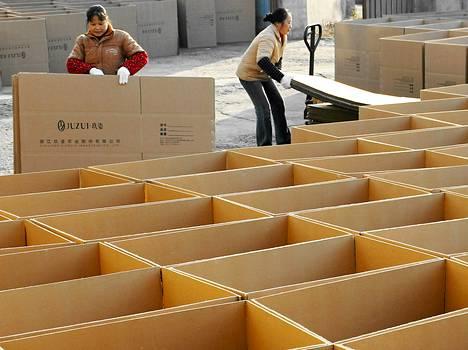 Kiinan vienti kärsii maailmanlaajuisen kysynnän heikkoudesta.