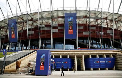 Naton huippukokous pidetään PGE-stadionilla Puolan pääkaupungissa Varsovassa.