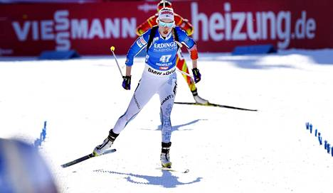 Laura Toivanen ankkuroi Suomen maaliin seitsemäntenä.