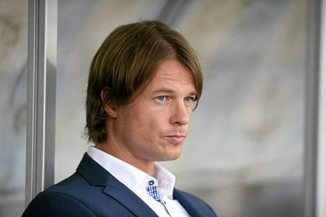 Mika Lehkosuo toimii nykyään HJK:n päävalmentajana.