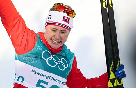 Ragnhild Haga otti olympiavoiton jo kolmannessa arvokisastartissaan.