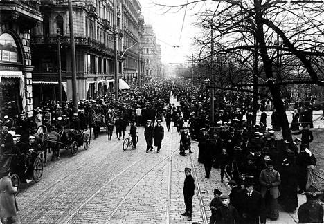 Vappu 1905 Espiksellä.