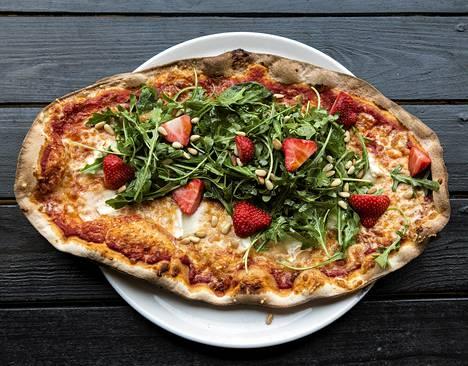 Skifferin Soignon-pizza.