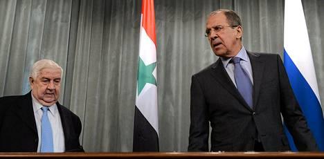 Syyrian ulkoministeri Walid Muallen tapasi venäläisen kollegansa Sergei Lavrovin Moskovassa. Ministereiden oletettiin neuvottelevan Syyrian tulevista rauhanneuvotteluista Genevessä.
