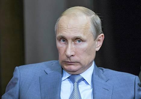 Vladimir Putin kävi katsastamassa MM-kisapaikan.