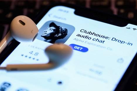Clubhouse-sovellus App storessa.