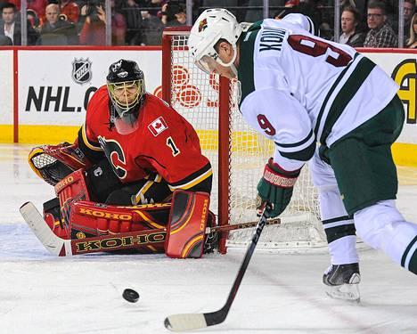 Mikko Koivu pelasi loisto-ottelun Chicagoa vastaan.