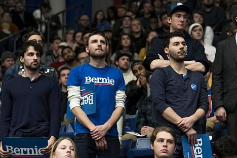 Sandersin viimeisessä kampanjatapahtumassa oli yli 7000 osallistujaa.