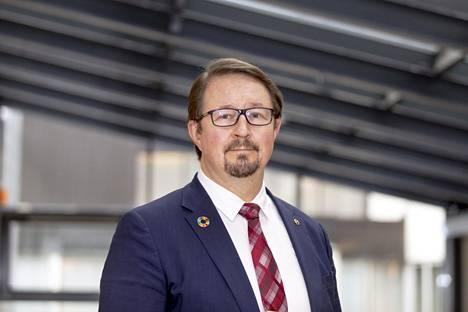 THL:n johtaja Mika Salminen