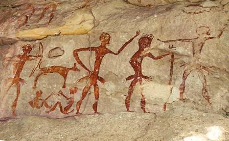 Kivikauden klaanisodat niittivät miehiä.