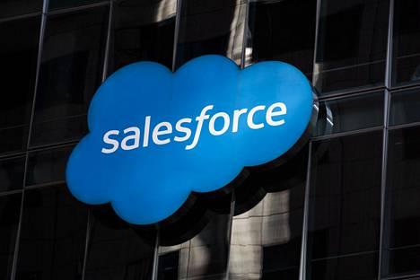 Salesforcen päämaja San Franciscossa.