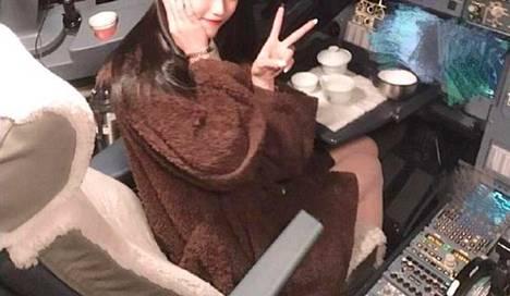 Rajaus Weibo-palvelussa julkaistusta kuvasta.