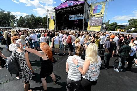 Lähes 20 000 ihmistä saapui perjantaina ja lauantaina Tikkurila Festivaalille.