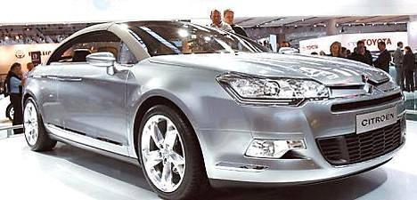 Citroën C5 uudistuu ensi vuoden alussa