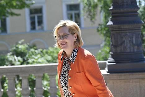 Työministeri Tuula Haatainen.